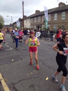 Annie marathon2